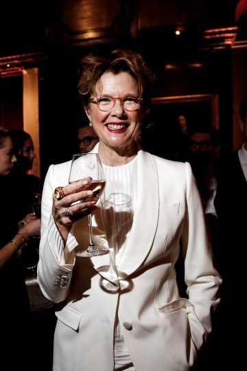 Annette Bening enjoys the BAFTA Nespresso Nominees' Party