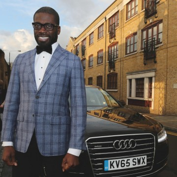 Ortis Deley arrives at the British Academy Games Awards