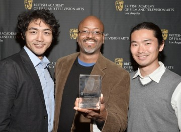 Yuki Matsuzaki, Elliott Williams and Kohei Obara (Usagi-San)