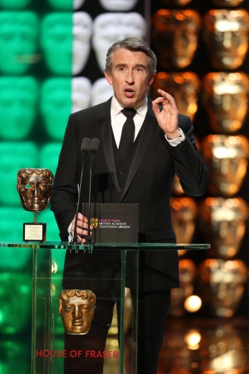 Steve Coogan presents the Special Award