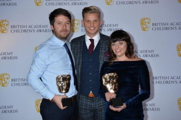 The Dumping Ground wins the Interactive - Adapted category at the British Academy Children's Awards in 2015, presented by Jeff Brazier.