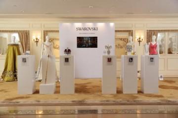 Swarovski showcase Hemming's beautiful designs at The Peninsula Hotel in Hong Kong
