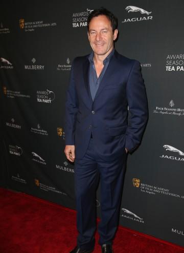 Jason Isaacs arriving at the BAFTA LA 2014 Awards Season Tea Party.