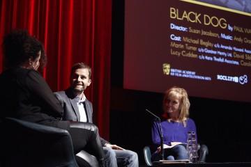 Farah Abushwesha (Rocliffe), Paul Waters and Paula Milne