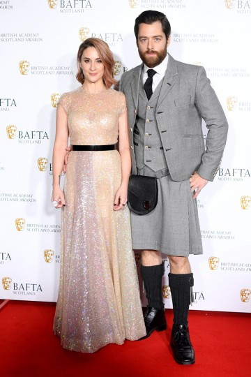 Morven Christie & Richard Rankin