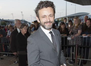 Michael Sheen arrives on on the red carpet