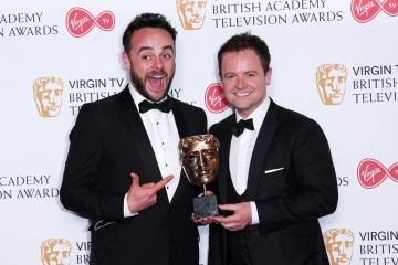 Ant & Dec's Saturday Night Takeaway wins for Entertainment Programme