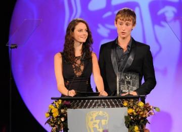 Skins actress Kaya Scodelario and Shameless star Elliott Tittensor presented the inaugural BBC Blast and BAFTA Screen-Skills Award.