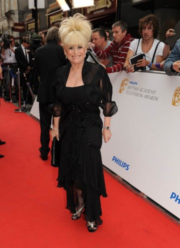EastEnders legend Barbara Windsor arrives at the Television Awards (BAFTA/Richard Kendal).