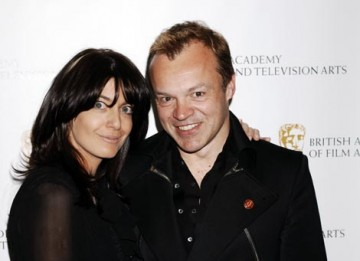 Claudia Winkleman and Graham Norton, TV and TV Craft Awards hosts.
