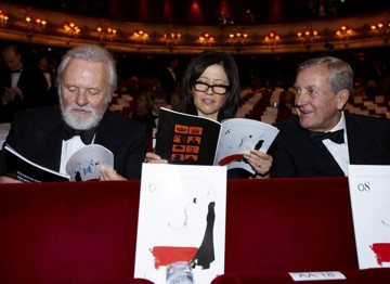 Anthony Hopkins at the 2008 Film Awards