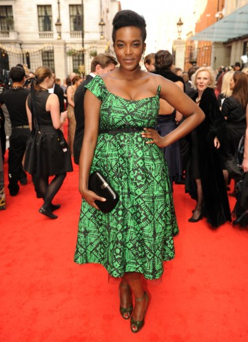 The 32 Brinkburn Street actress will present the International BAFTA with her Vera co-star David Leon. (Pic: BAFTA/Richard Kendal)