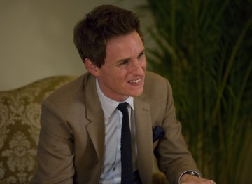 Eddie Redmayne is interviewed for his Academy Circle event at the Peninsula Hong Kong