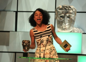 BAFTA-nominated film and TV actress Sophie Okonedo presents the award for Leading Actor.