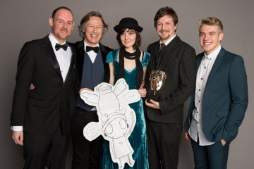 The team behind Sarah and Duck, winner of the Pre-School Animation category at the British Academy Children's Awards in 2014, presented by Wolfblood star Bobby Lockwood