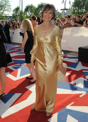 Call the Midwife's Sister Julienne arrives at the Television Awards.