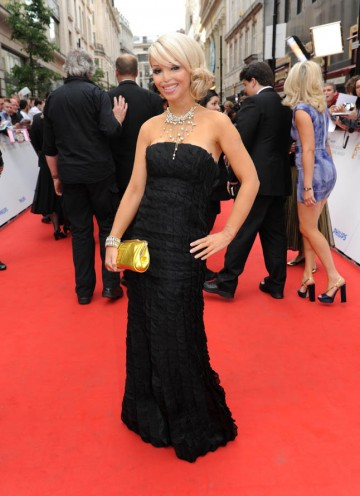 Katie Piper, subject of Single Documentary nominee Katie: My Beautiful Face, arrives at the London Palladium (BAFTA/Richard Kendal).
