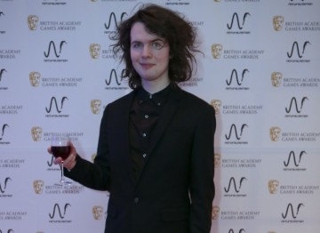 William Pugh (The Stanley Parable) at the BAFTA Games Nominees Party.
