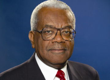 "On receiving the Academy Fellowship Sir Trevor McDonald said: ""I am honoured and absolutely delighted to join such a distinguished list of previous recipients"". (Pic: ITV)"