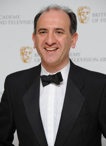 Armando Iannucci is nominated with his writing team for The Thick of It.