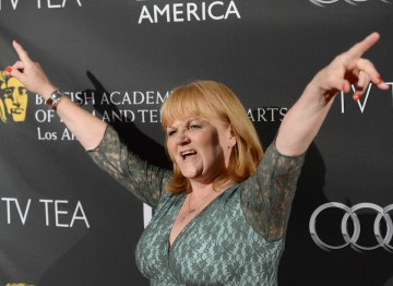Actress Lesley Nicol