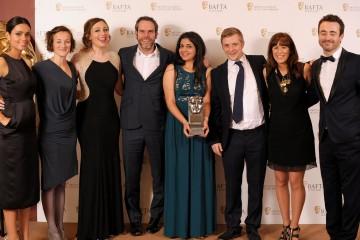 Georgina Campbell (Presenter) Glasgow Girls Production Team and Joe McFadden (Presenter)
