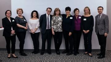 Lisa Harrison, Christina Thomas, Heidi Klaimitz, Doug Schwalbe, Susan Bishop, Linda Kahn, Nelsa Gidney, Celine Rattray, Jeff Cotugno