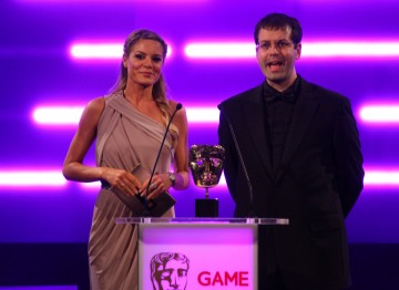 Sky Sports News presenter Charlotte Jackson and Rebellion Developments' Chris Kingsley reveal the winner in the Action category.