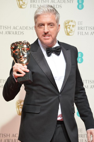 Adapted Screenplay - The Theory of Everything: Award-winning screenwriter Anthony McCarten celebrates backstage