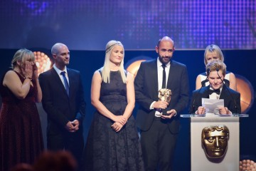 My Life: I am Leo collects the BAFTA for Factual at the British Academy Children's Awards in 2015
