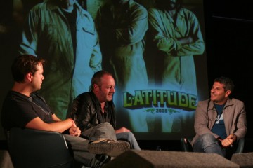 BAFTA hosted an on-stage Q&A with Adrian Sturges and Liam Cunningham before the screening of The Escapist.