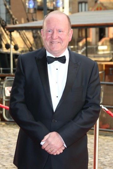 Ian Livingstone CBE walks the red carpet at the British Academy Games Awards