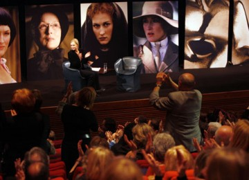 The multi award winning actress received a standing ovation from film fans and BAFTA members (BAFTA / Marc Hoberman).
