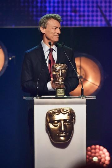 Duncan Kenworthy presents BAFTA's Special Award at the British Academy Children's Awards in 2015