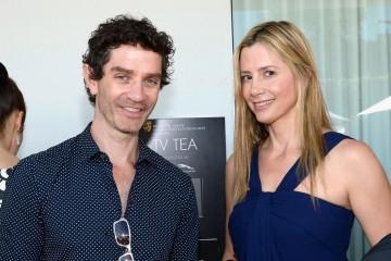 James Frain and Mira Sorvino