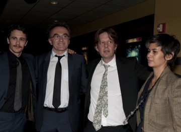 James Franco, Director Danny Boyle and Screenwriter Simon Beaufoy