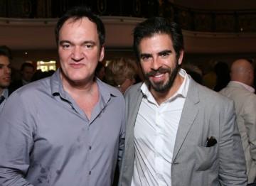 Quentin Tarantino and Eli Roth