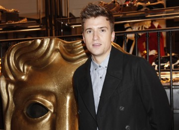 Greg James at the Breakthrough Brits celebration evening.