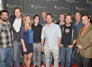 The cast and crew of Solidarity