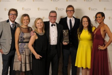 Production Team - BBC Scotland/CBBC (Children's Programme) with citation readers Iain Stirling & Jean Johansson