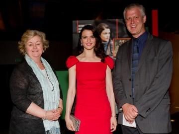 BAFTA New York CEO Christina Thomas, Rachel Weisz and Moderator David Schwartz