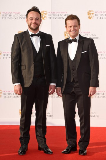 Ant and Dec on the red carpet