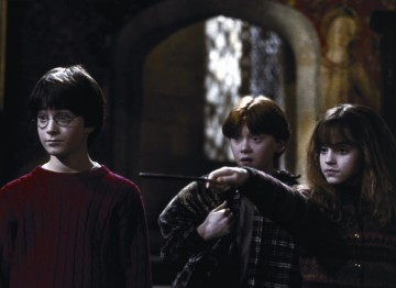 The first film introduced Harry and co. to the big screen when Daniel Radcliffe was just 12.