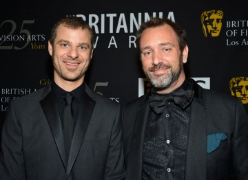 South Park creators Matt Stone and Trey Parker were there to pick up their Charlie Chaplin Britannia Award for Excellence in Comedy.