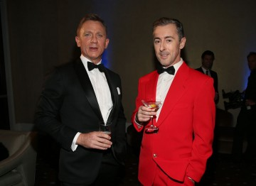 Daniel Craig and Alan Cumming.