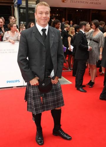 Olympian and presenter of the Sport BAFTA Chris Hoy (BAFTA/Steve Butler).