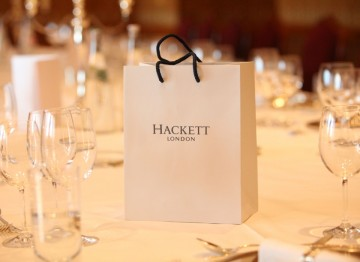 The John Hurt lunch was hosted by official menswear stylist of the 2012 Film Awards; Hackett London, in celebration of Hurt's Outstanding Contribution to British Cinema Award.