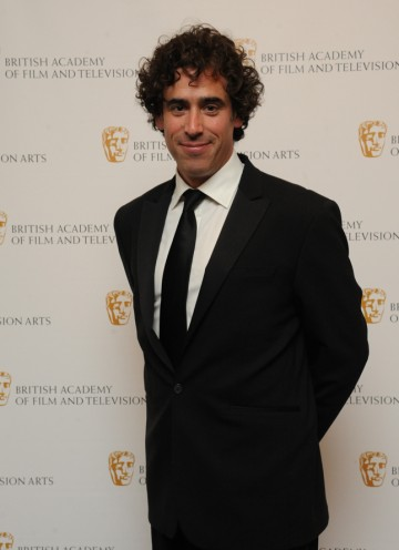 The star of C4's Green Wing and the recent BBC comedy Episodes is still smiling after hosting the show. (Pic: BAFTA/Chris Sharp)