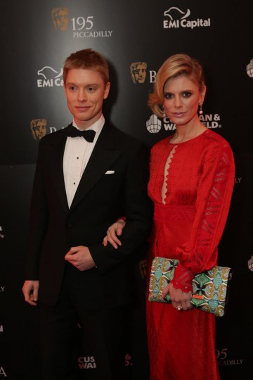 Siblings Freddie and Emilia Fox