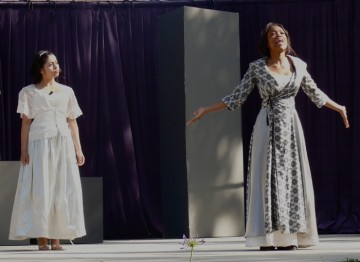 The climactic performance of Romeo & Juliet
